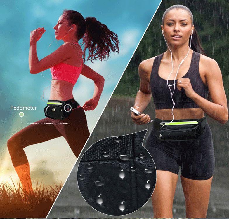 多功能水壶运动腰包男耐磨马拉松装备防水跑步手机包女胸包斜挎包