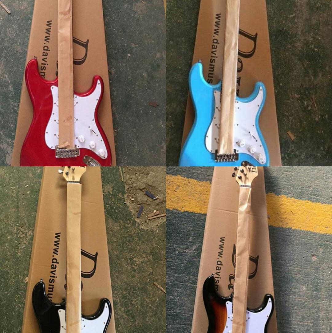 ELECTRIC GUITAR电吉他,珠光色,明漆色