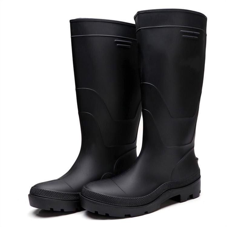 男高筒雨靴中筒雨鞋短筒水鞋套鞋胶靴工矿靴劳保雨鞋