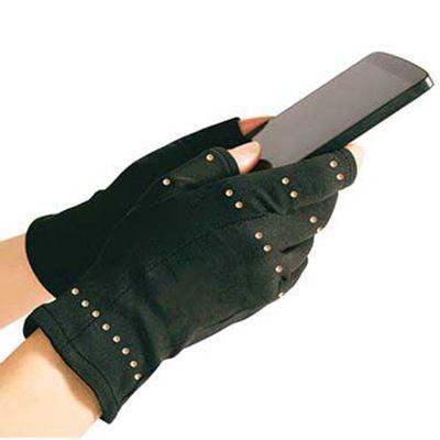 G 日常护理铜纤维防滑半指压力手套运动半指手套