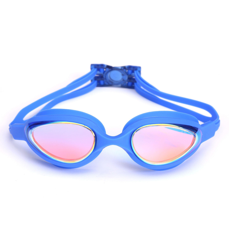 硅胶电镀泳镜高清防水防雾游泳镜68A