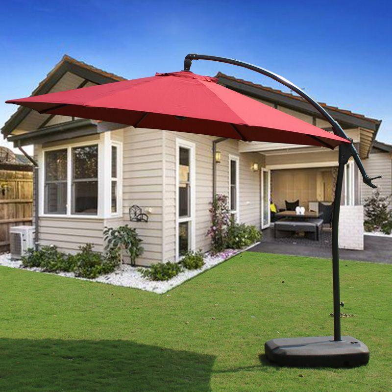 野人谷户外遮阳伞3米大号防雨伞折叠广告大太阳伞庭院伞沙滩伞
