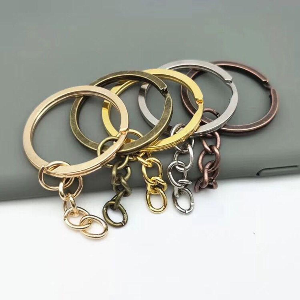 五金配件钥匙圈金属圈环广州电镀尺寸多可定制