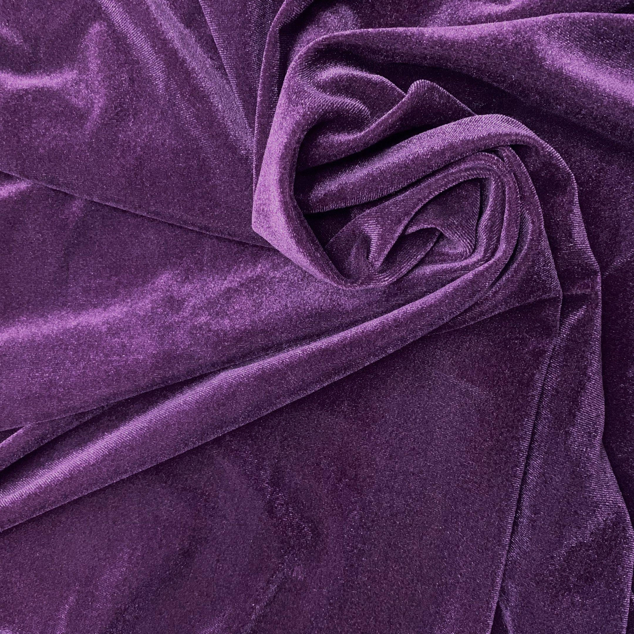 14#豆沙紫韩国绒 针织南韩绒面料 时尚女装连衣裙保暖绒布料