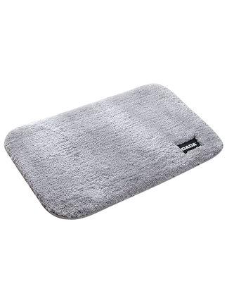 加厚浴室地垫家用洗手间吸水脚垫卫生间门口防滑卧室绒茸80X120