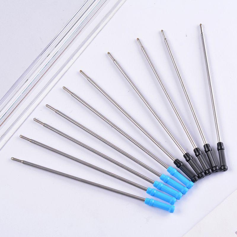 跨境专供金属笔芯 11.6CM红色蓝色黑色油笔芯大高仕金属圆珠笔芯