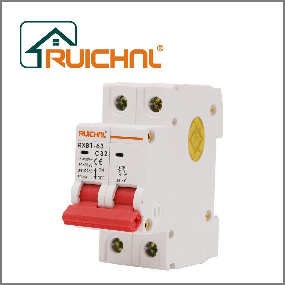 特价RXB1-63小型断路器 2P小型断路器 3KA 高品质供应 CE认证