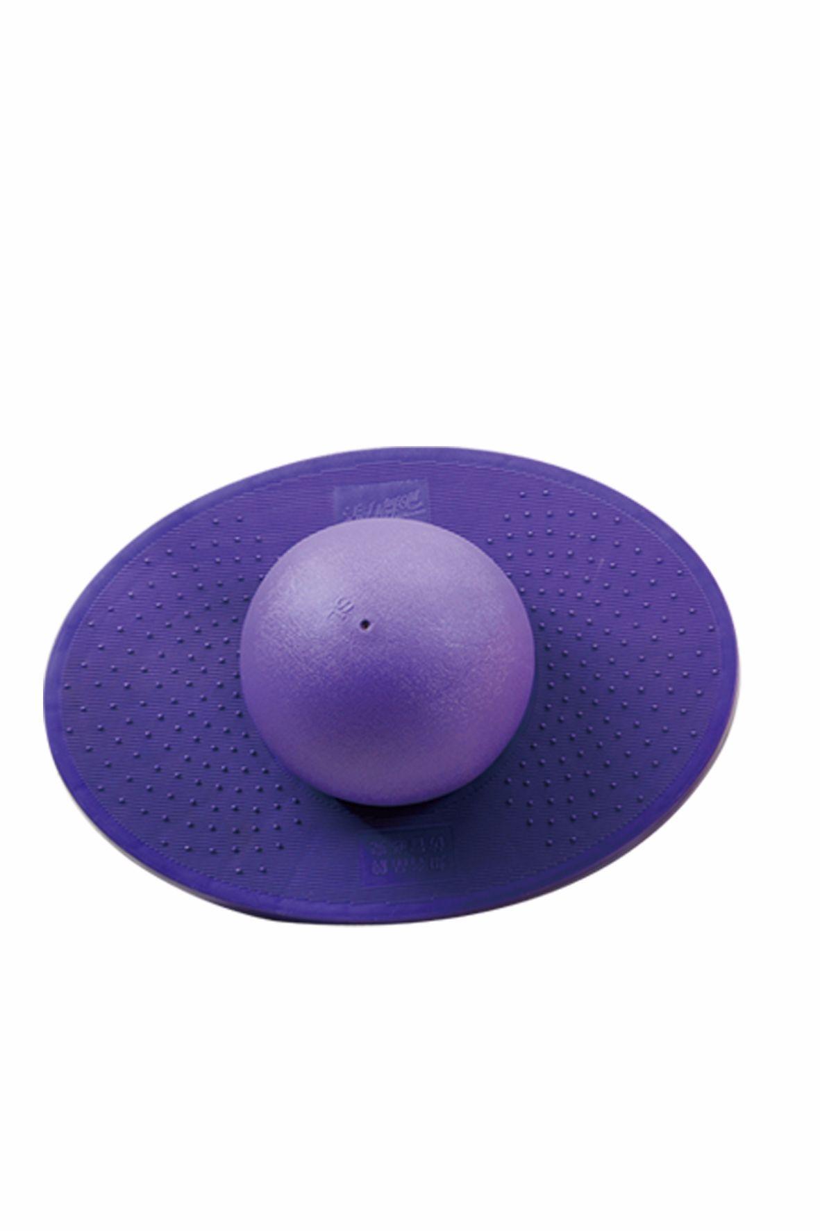 健身球圆紫