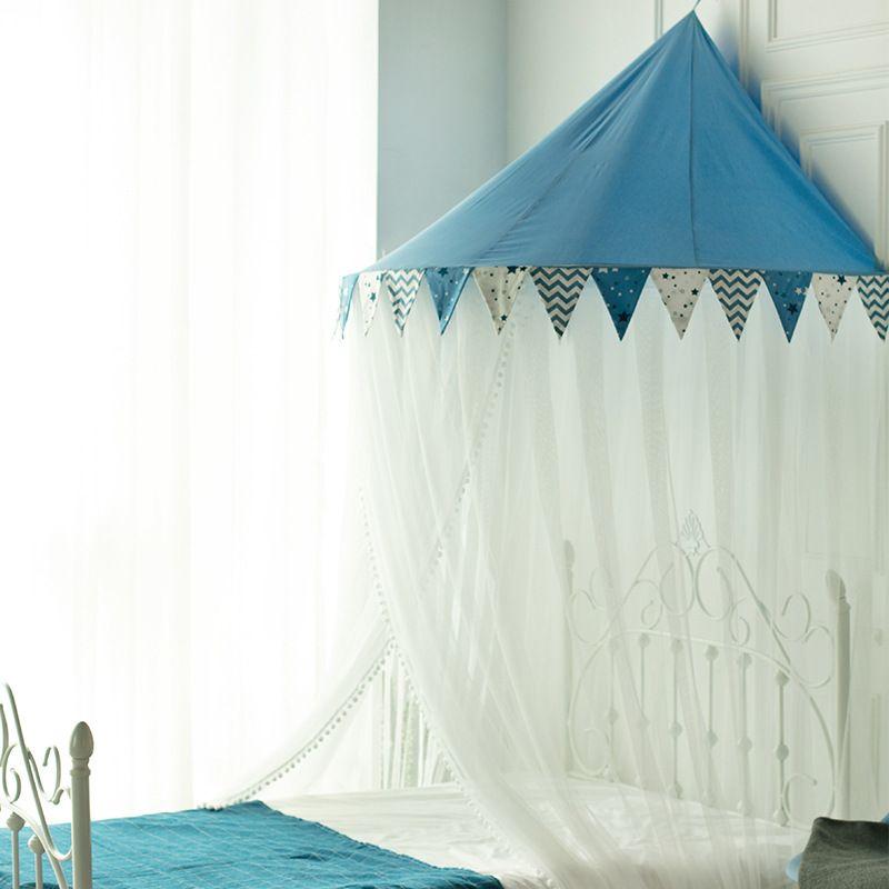 蚊帐新款吊顶圆顶公主落地式宫廷免安装1.5/1.8m1.2米床双人家用