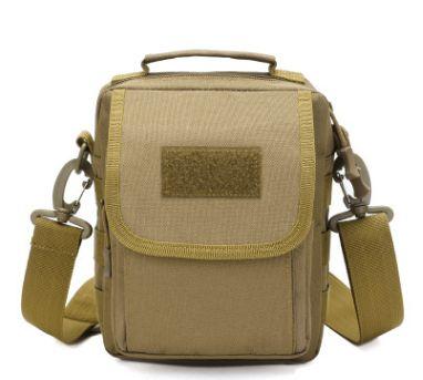 批发迷彩包防水单肩斜挎包户外包旅行战术小包跨境现货