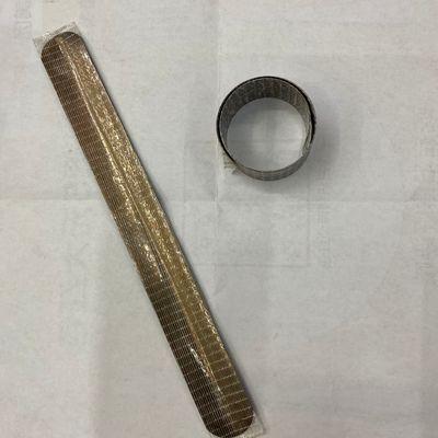 网格纤维胶啪啪圈钢片毛绒玩具配件铁片尺子