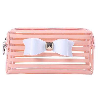 高档透明PVC大容量化妆包 收纳女包包