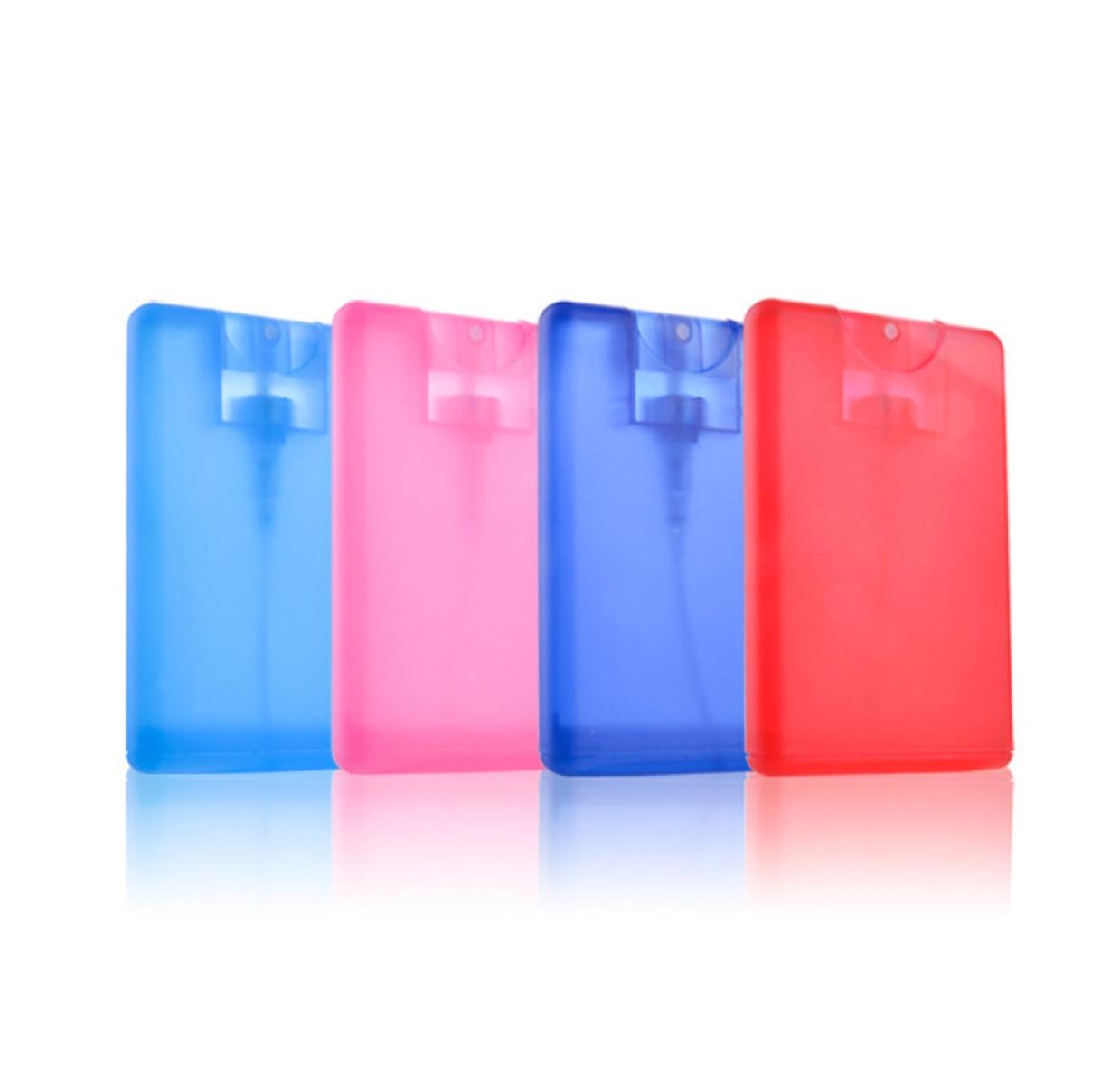 20ml卡片喷雾瓶 便携式香水瓶 pp塑料香水瓶旅行分装瓶