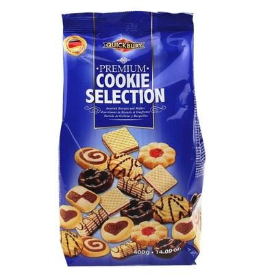 杰伯瑞饼干400g蓝色包装