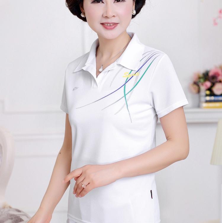 外贸女士短袖T恤运动服30修身