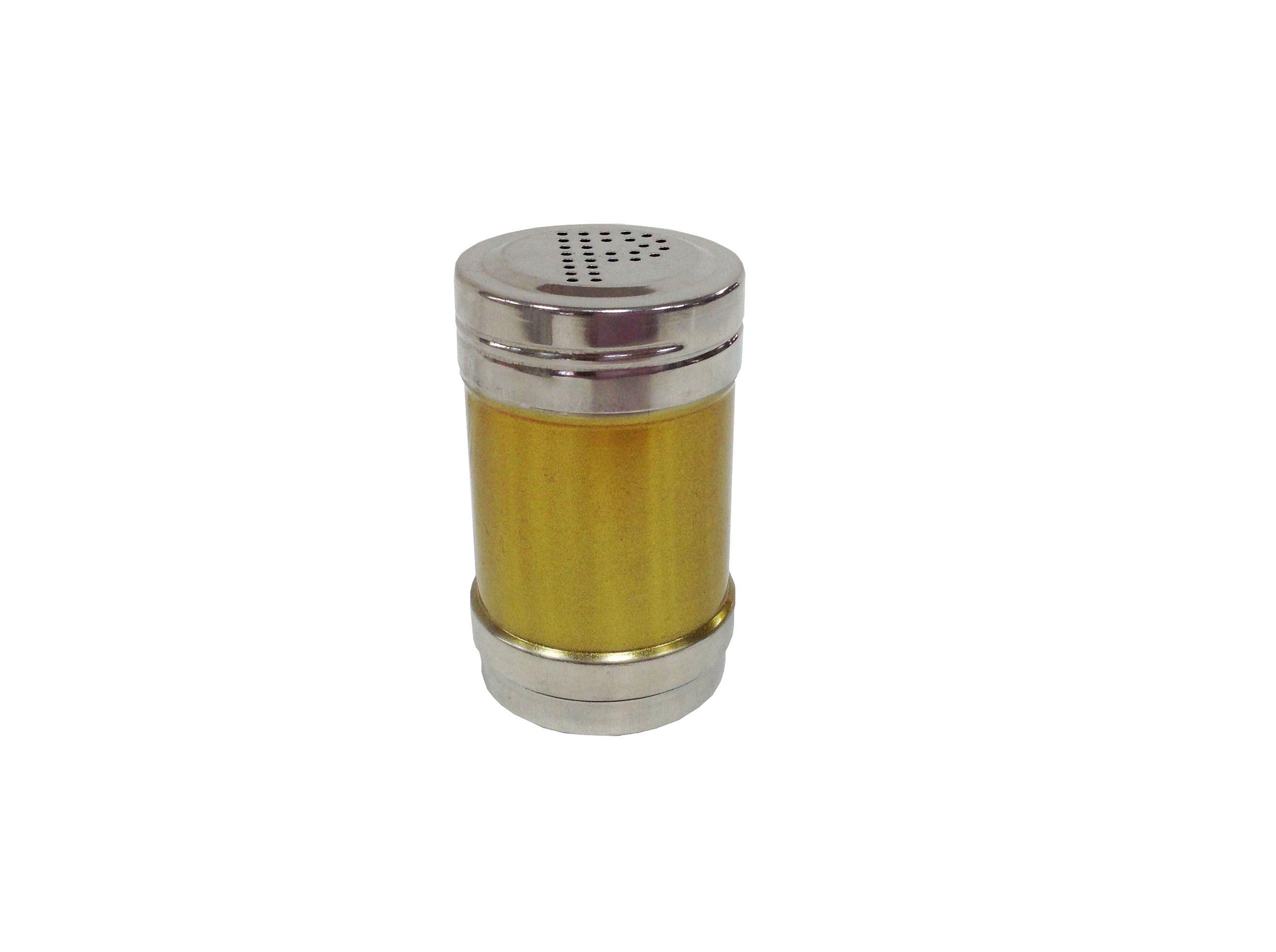 DF99192不锈钢P型S型单用调味罐本色彩色DF TRADING HOUSE