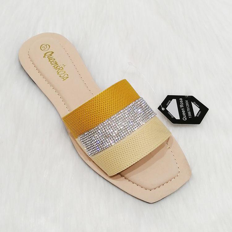 Summer latest ladies women flat slippers 凉鞋女鞋子