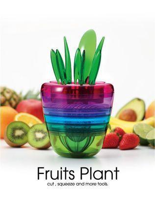 厂家直销新款花盆型水果料理器沙拉机 多功能水果切菜器可定制