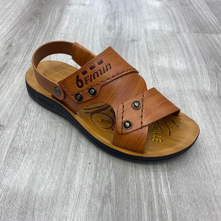 men sandals beach style men shoes 铆钉时尚男凉鞋沙滩风格