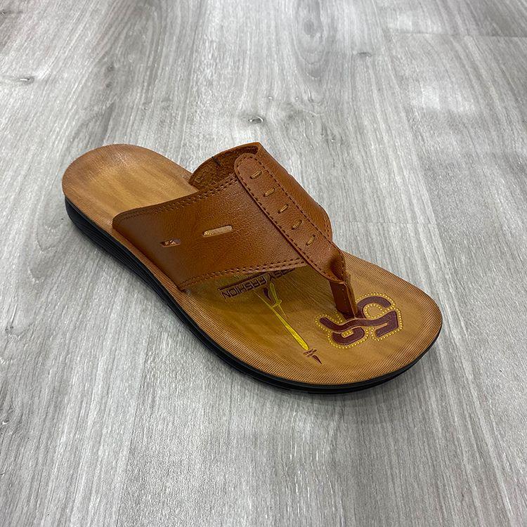 men slipper hot selling beach slippers 热销款外贸男士拖鞋