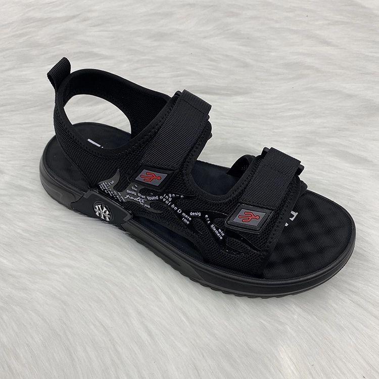 Massage sole men sandals beach style 按摩底透气网男凉鞋