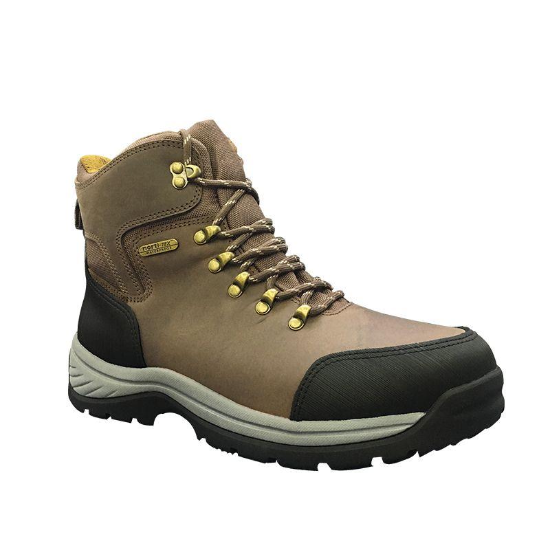 2020户外登山鞋男士头层牛皮防滑靴子高帮徒步鞋越野秋冬爬山鞋子