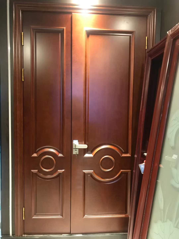 SOLID WOOD DOOR INTERIOR DOOR 实木复合门,卧室门 EW-C8054