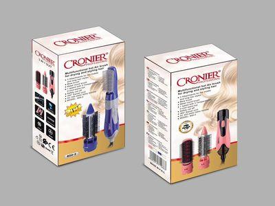 CRONIER CR800-2 卷发风梳套装直发梳