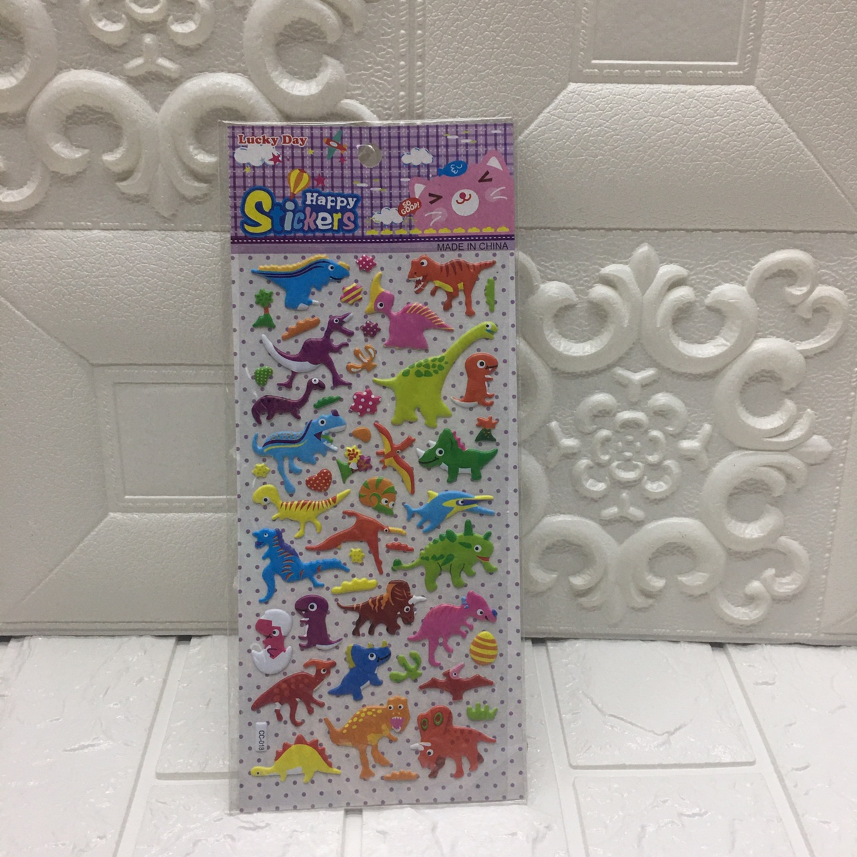 贴纸 海绵贴纸 泡泡贴 儿童卡通贴纸 儿童奖励贴纸
