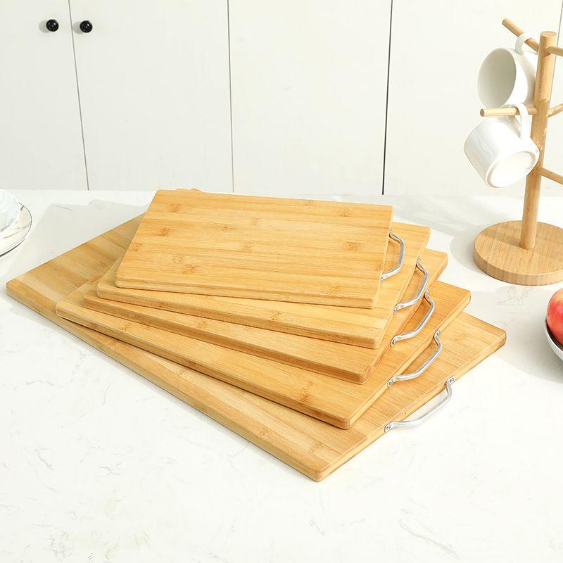 加大号竹制擀面板切菜板多功能加厚做面食砧板案板水果板现货批发