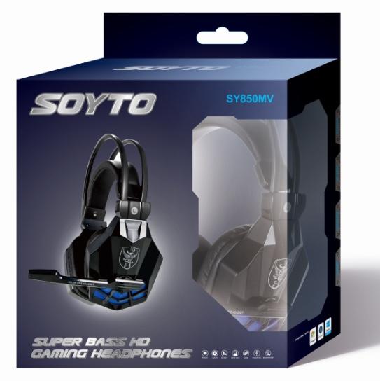 SY850MV发光迷彩版游戏耳机