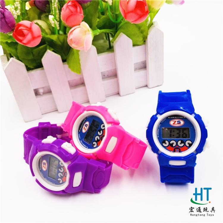 厂家直销爆款手表儿童电子手表彩宝手表男孩女孩电子手表