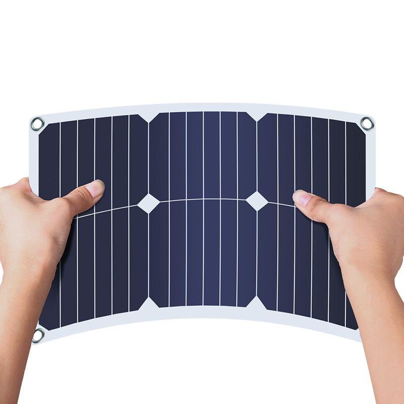 18W18V太阳能汽车充电器户外旅行车载电瓶车