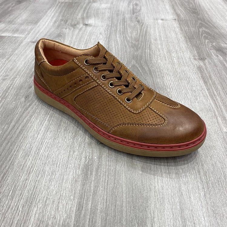 男鞋时尚定制真皮板鞋休闲鞋men casual shoes genuine leather