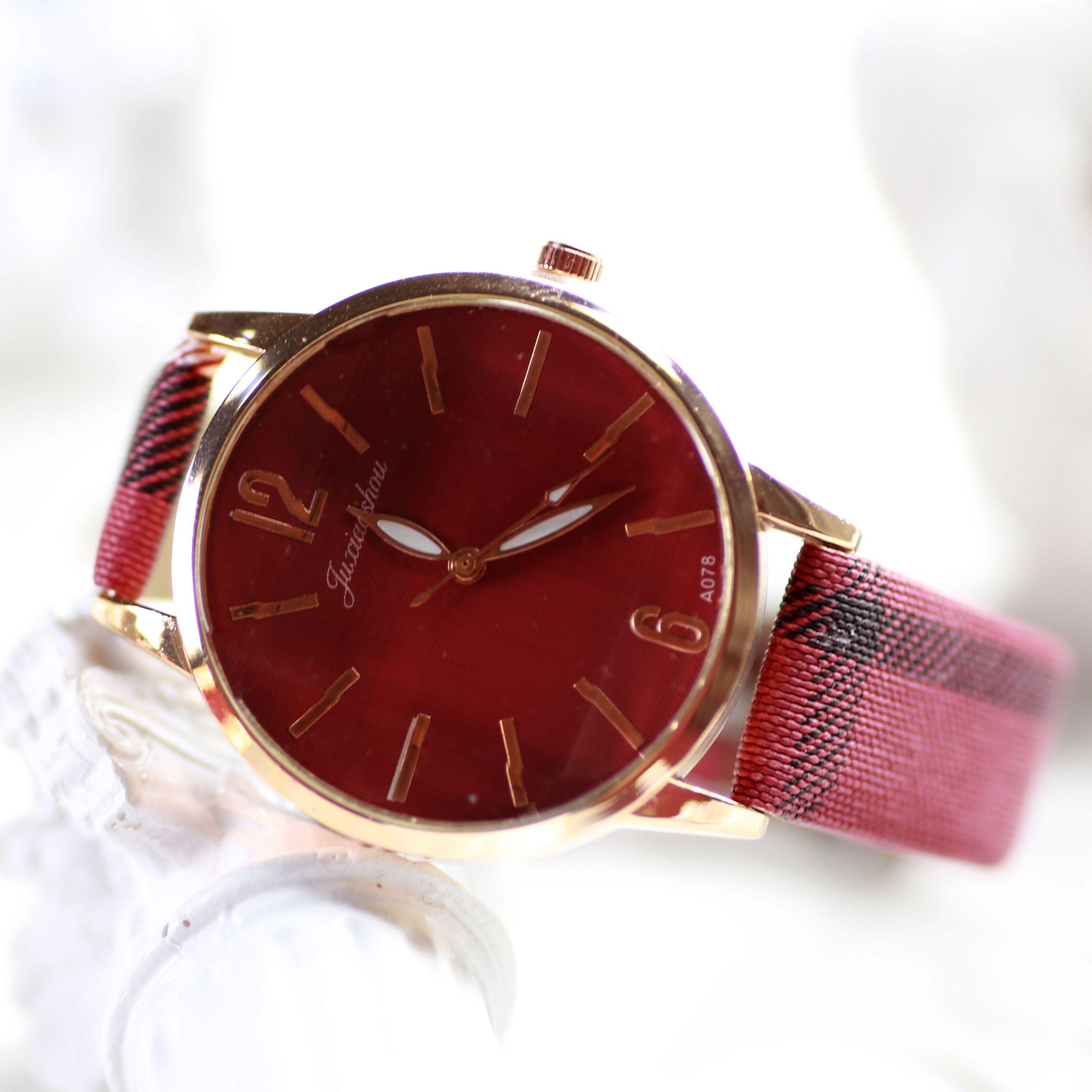 【新乐表业】外贸手表 ebay爆款手表 女士石英表 条纹手表