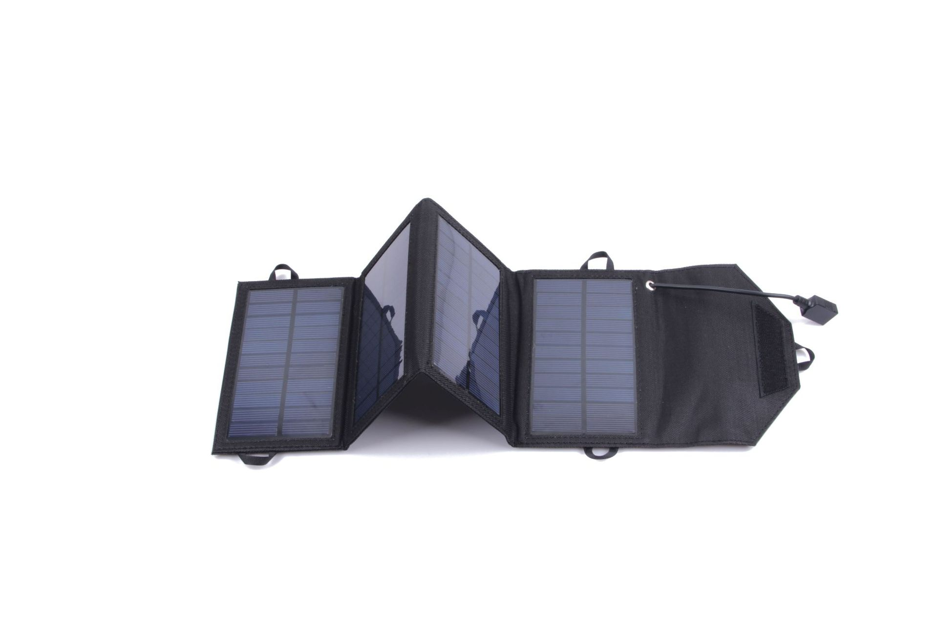 爆款太阳能充电器5w户外太阳能折叠包手机充电USB智能稳压