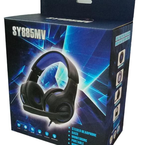 SY885MV发光耳机