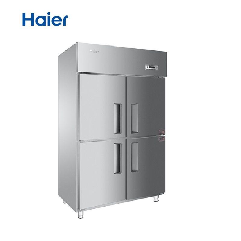 海尔 立式四门冷冻柜 冷冻冷藏双温冰箱 1050D4/1020C2D2
