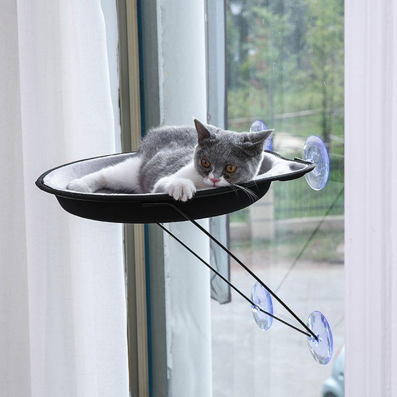 猫吊床 吸盘猫窝 挂窝猫咪四季通用挂式窗台猫窝宠物用品外贸专供