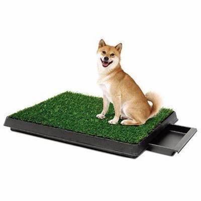 TV狗厕所Pet Potty宠物草坪 三层豪华带抽屉款宠物草坪厕所