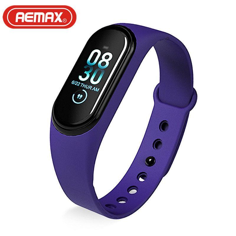 AEMAX 新款m4pro测体温运动血压心率手环深度防水手环手表