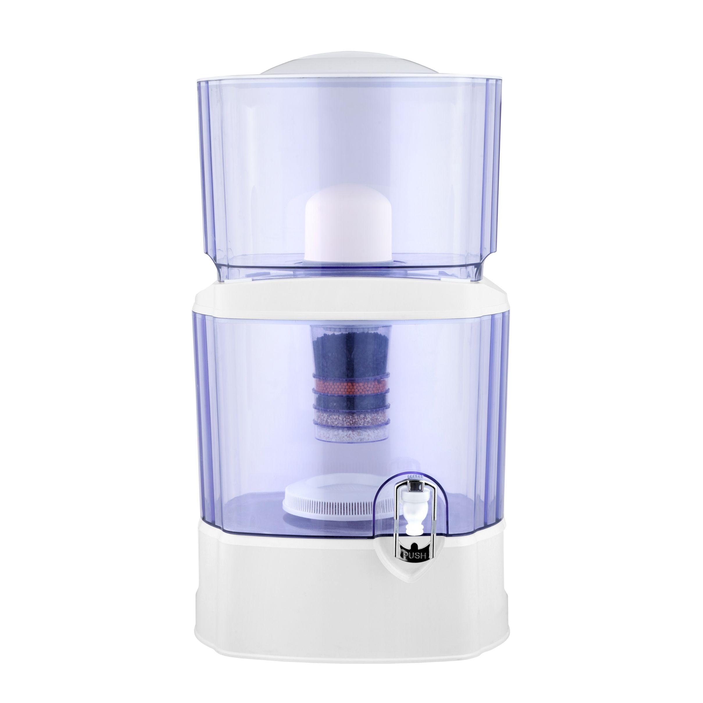 净水器过滤桶家用户外直饮自来水矿化桶过滤芯陶瓷球24L