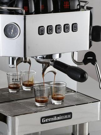 格米莱 CRM3018 半自动家用商用咖啡机意式 专业现磨奶茶店专用