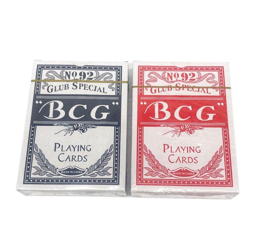 BCG扑克牌 外贸扑克牌 满背纸牌 扑克牌批发