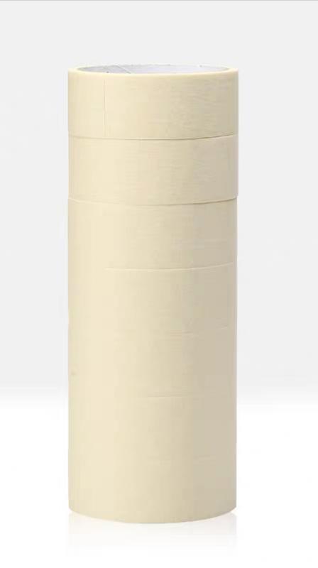美纹纸胶带新星汽车喷漆宽1.8cm长10m美纹胶布美缝剂硅藻泥装修