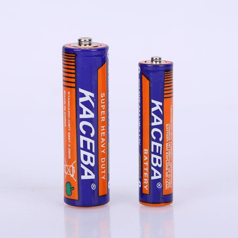 KACEBA7号AAA R03无汞环保锌锰干电池 手电筒玩具车用干电池