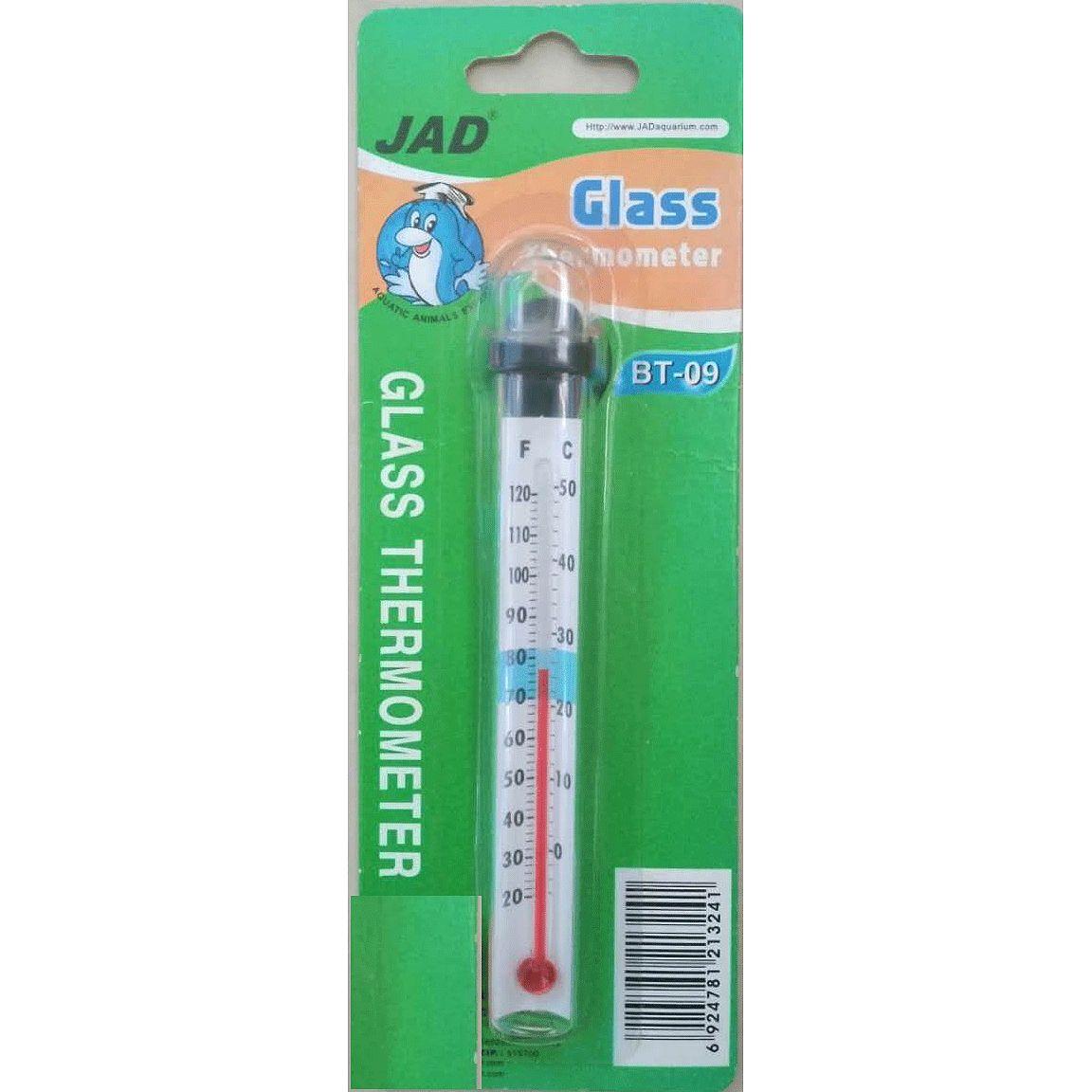 鱼缸精准温度计 水温计 水族箱玻璃温度计乌龟缸海水缸温度计