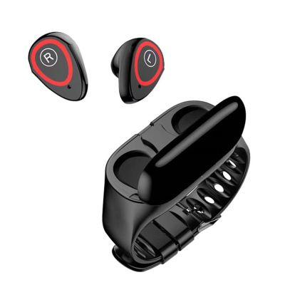 M1智能手环M7彩屏对耳蓝牙5.0无线耳机计步心率血压监测运动M1pro
