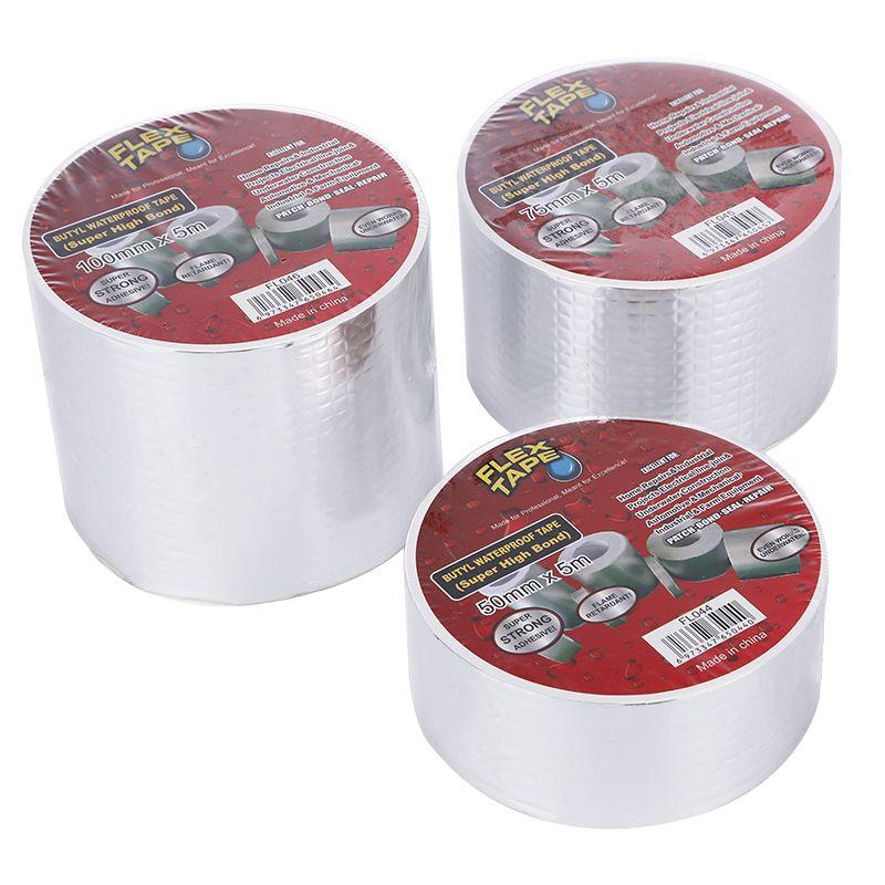 FLEX TAPE 丁基防水胶带 防水补漏丁基胶带 多处补漏 超粘性
