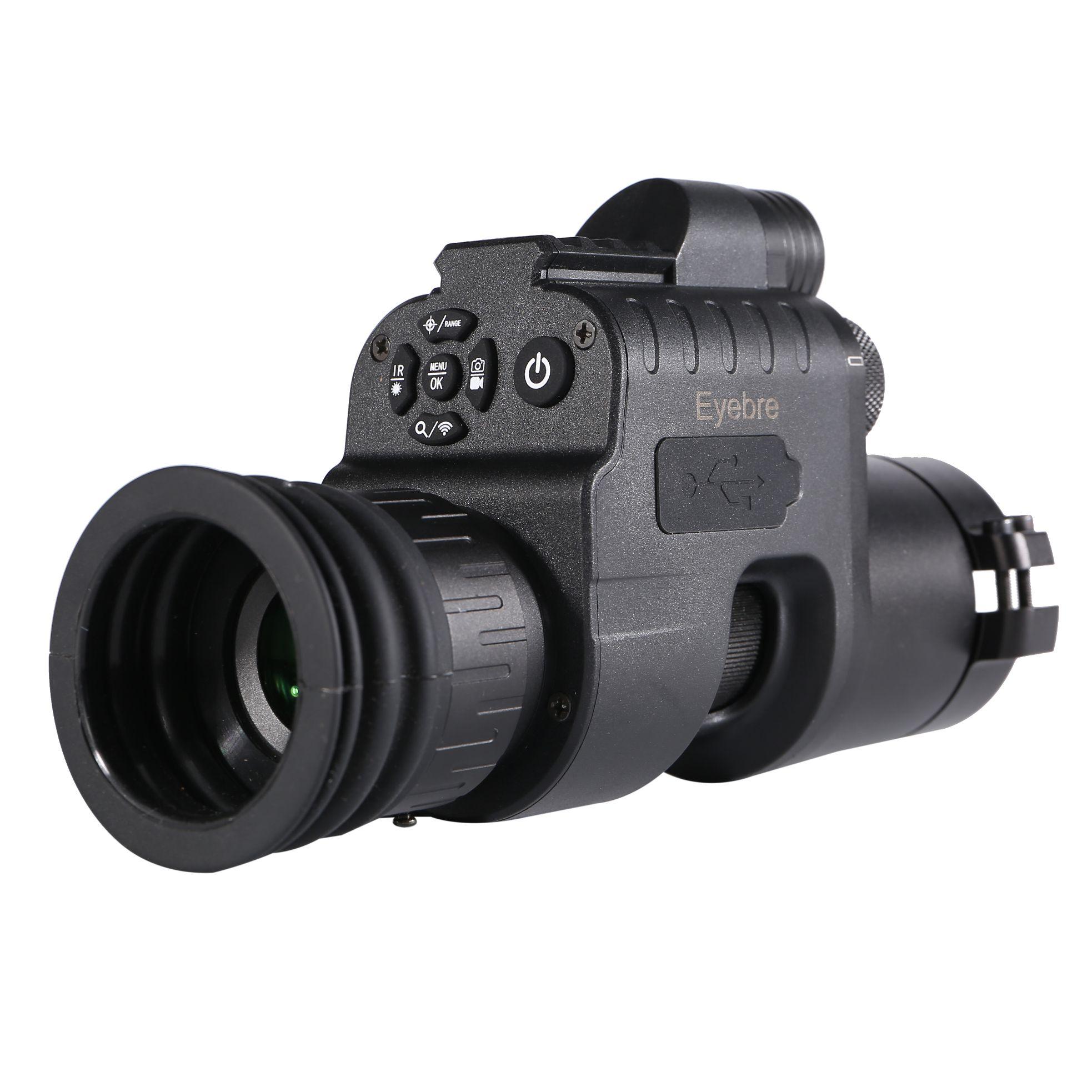 Eyebre高清高倍单筒数码夜视仪拍照录像日夜两用红外线观察仪